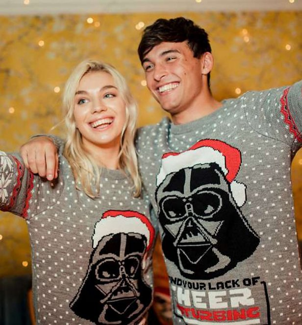 Star Wars Darth Vader Christmas Cheer Knitted Jumper