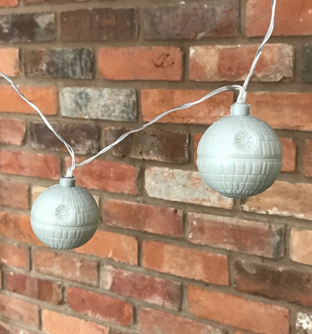 Star Wars Death Star 3D String Lights