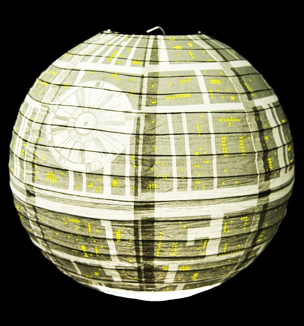 Star Wars Death Star Paper Lampshade