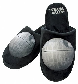Star Wars Death Star Slip On Slippers
