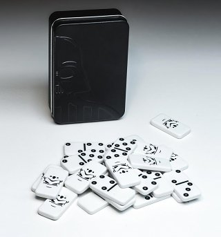 Star Wars Galactic Empire Stormtrooper Dominoes