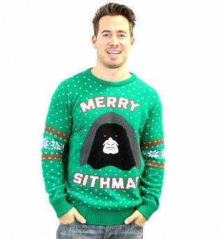 Star Wars Merry Sithmas Knitted Fair Isle Christmas Jumper