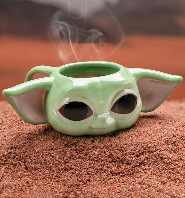 Star Wars Mandalorian Baby Yoda The Child Shaped Mug