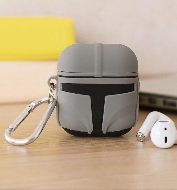 Star Wars Mandalorian Helmet AirPods Case