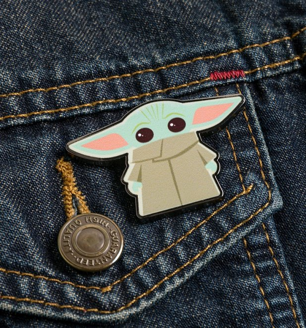 Star Wars Mandalorian The Child Enamel Pin Badge