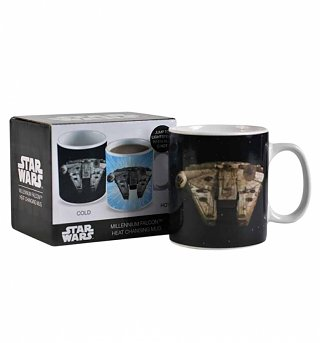 Star Wars Millennium Falcon Heat Changing Mug