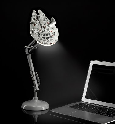 Star Wars Millennium Falcon Posable Desk Lamp