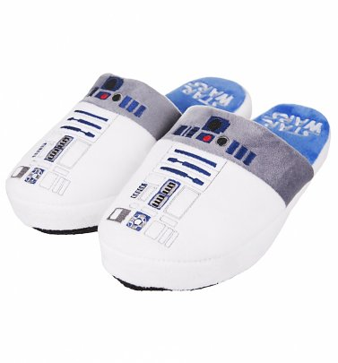 Star Wars R2-D2 Slip On Slippers