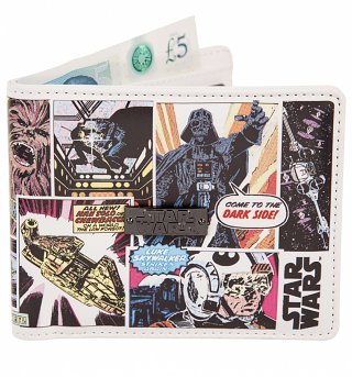 Star Wars Retro Outside Print Wallet