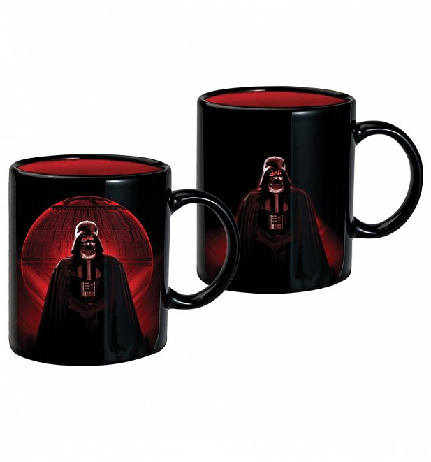 Star Wars Darth Vader Death Star Heat Change Mug