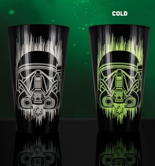Star Wars Rogue One Death Trooper Colour Change Glass