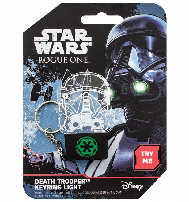 Star Wars Rogue One Death Trooper Keyring Light