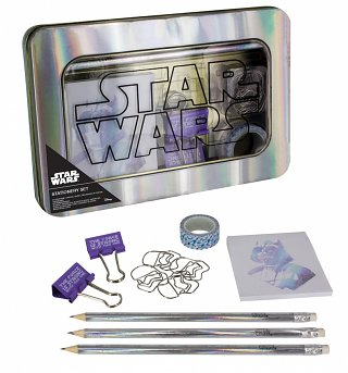 Star Wars Stationery Set In A Tin