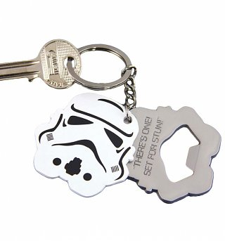 Star Wars Stormtrooper Bottle Opener Keyring
