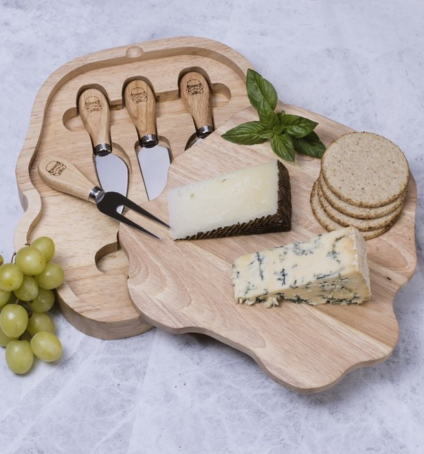 Star Wars Stormtrooper Cheeseboard and Knife Set