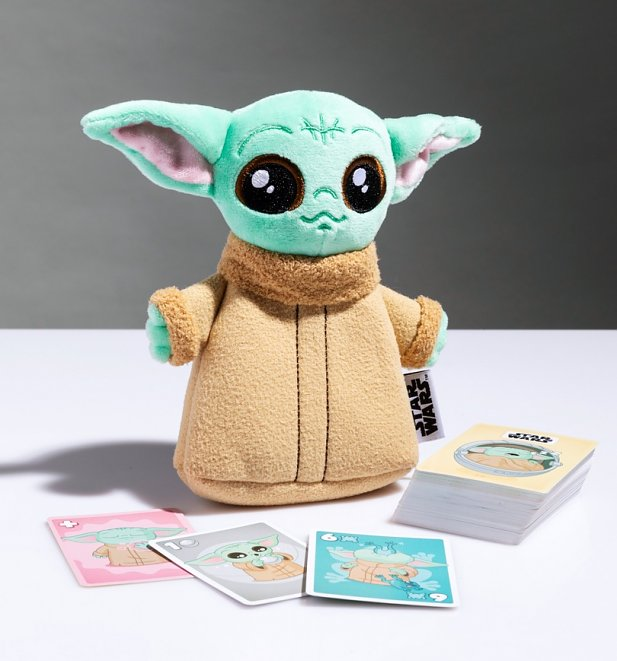 tar Wars Baby Yoda The Child's Cute Loot Game