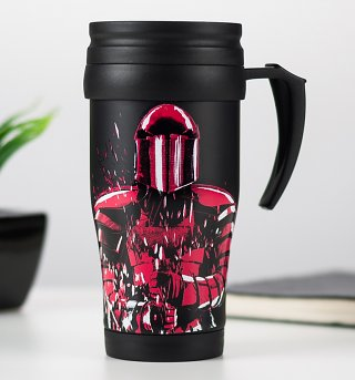 Star Wars Episode VIII The Last Jedi Praetorian Guard Travel Mug