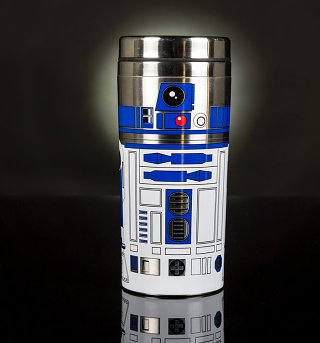 Star Wars Episode VIII The Last Jedi R2-D2 Travel Mug