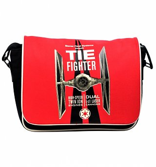 Star Wars Tie Fighter Icon Messenger Bag