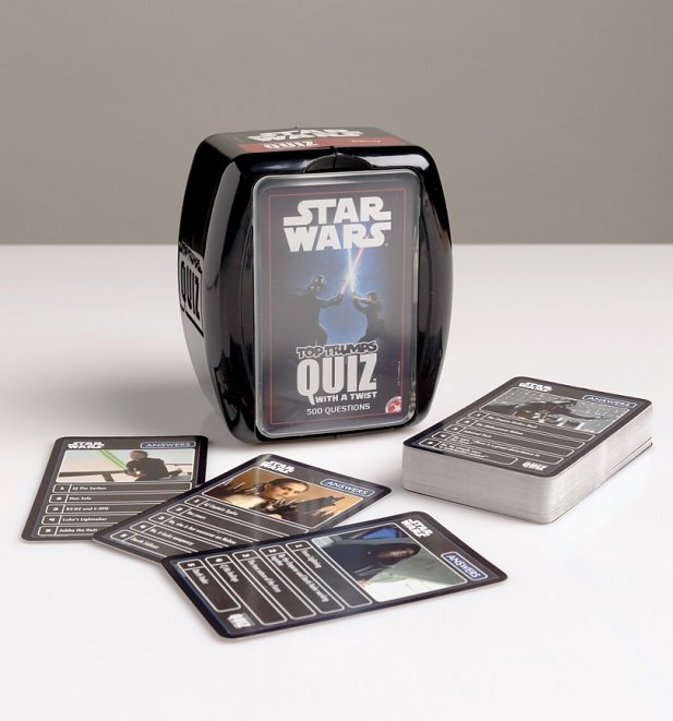 Star Wars Top Trumps Quiz