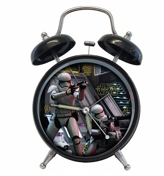 Star Wars VII The Force Awakens Bad Guy Alarm Clock