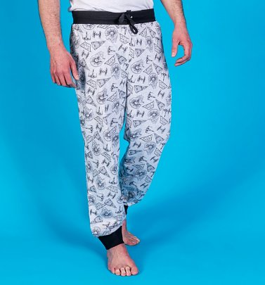 Star Wars Vehicles Cuffed Loungepants