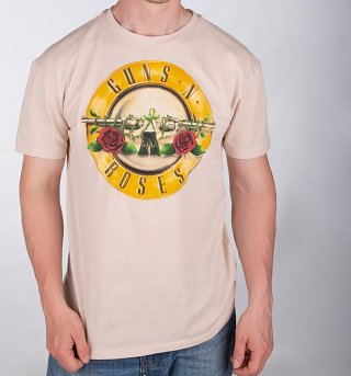 Stone Guns N' Roses Drum Logo T-Shirt