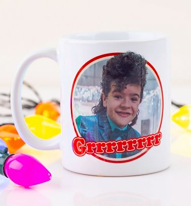 Stranger Things Dustin Grrrrrrrr Mug