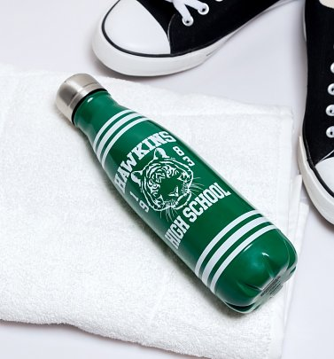 Stranger Things Hawkins High School Metal Water Bottle