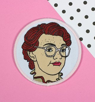 Stranger Things Inspired Barb Woven Patch from Punky Pins