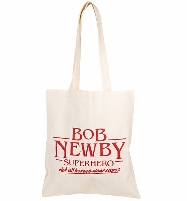 Stranger Things Inspired Bob Newby Superhero Tote Bag
