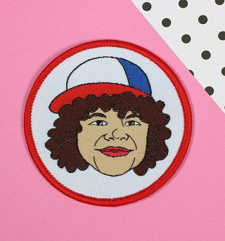 Stranger Things Inspired Dustin Woven Patch from Punky Pins