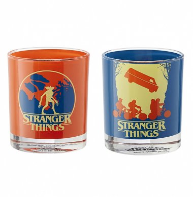 Stranger Things Set Of Two Glass Tumblers from Funko