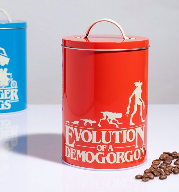 Stranger Things Silhouette Storage Tins from Funko
