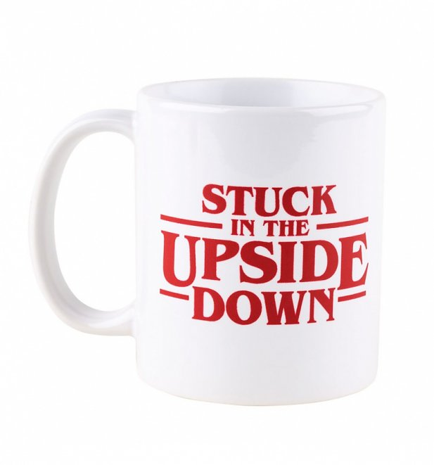 Stranger Things Stuck In The Upside Down Mug