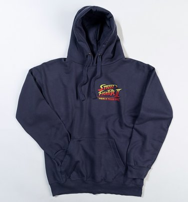 Street Fighter II World Tour Petrol Hoodie