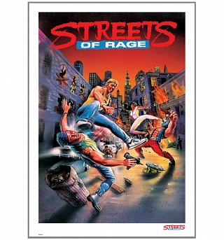 "Streets of Rage 11.7"" x 16.5"" Art Print"