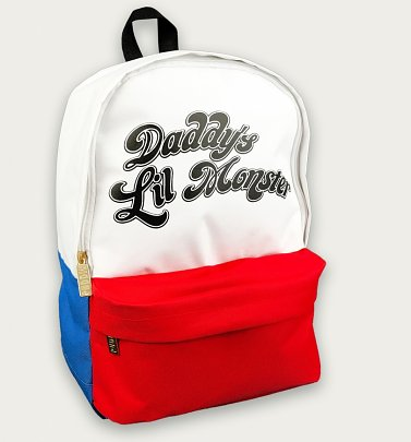 Suicide Squad Daddy's Little Monster Backpack