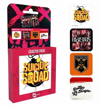 Suicide Squad Set of 4 Coasters