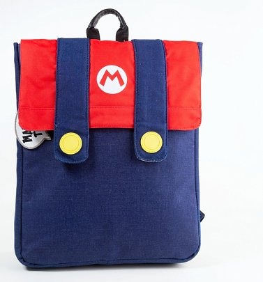 Super Mario Brothers Costume Backpack from Difuzed