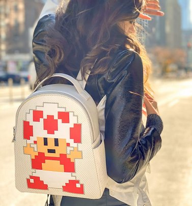 Super Mario Toad Nintendo Backpack from Danielle Nicole