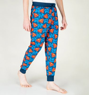 Superman Cuffed Loungepants