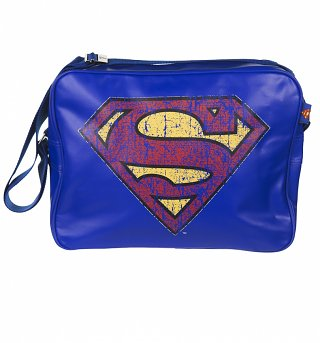 Superman Logo Messenger Bag
