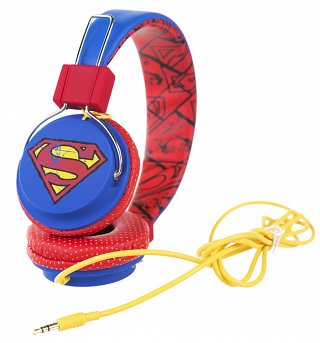 Superman Vintage Logo Headphones