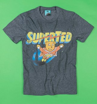 Superted Charcoal T-Shirt