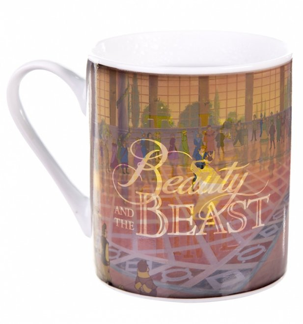 Disney Beauty And The Beast Boxed Heat Changing Mug