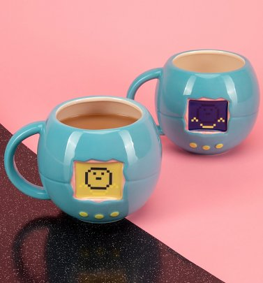 Tamagotchi Shaped Mug