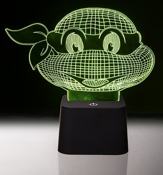 Teenage Mutant Ninja Turtles 3D Effect Mood Light