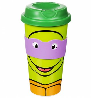 Teenage Mutant Ninja Turtles Donatello Travel Mug