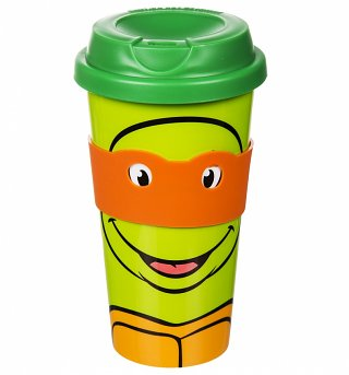 Teenage Mutant Ninja Turtles Michelangelo Travel Mug